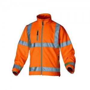 Haute visibilité veste orange fluorescent Panoply Moonlight