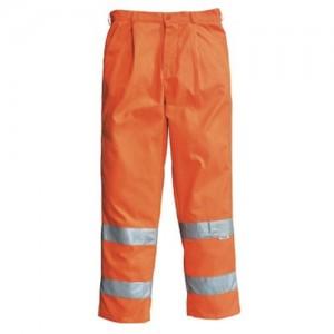 Orange pantalon haute visibilité