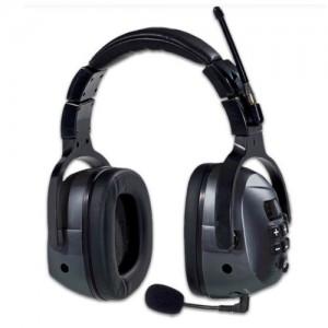 Anti casque avec émetteur radio de bruit