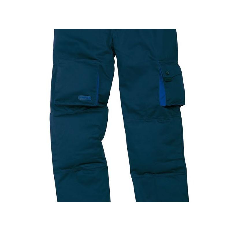 pantalon de travail doubl bleu panoply. Black Bedroom Furniture Sets. Home Design Ideas