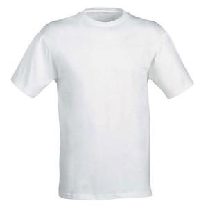 T-shirt en coton avec ouvrière blanche - Napoli Panoply