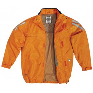 Veste de pluie d'orange Kissi