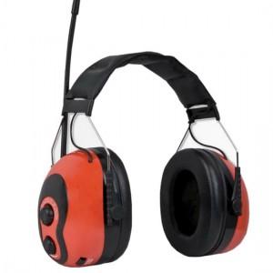 Cache-oreilles avec radio