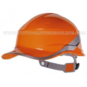Casque d'orange basebal