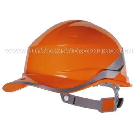 Casque d'orange basebal