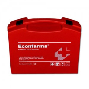 Trousse de premiers soins ( 2 employés ) Ecofarma