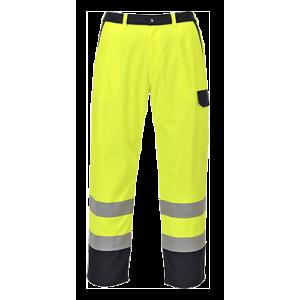 Pantalon ignifuge à visibilité rouge Pro High Visibility jaune