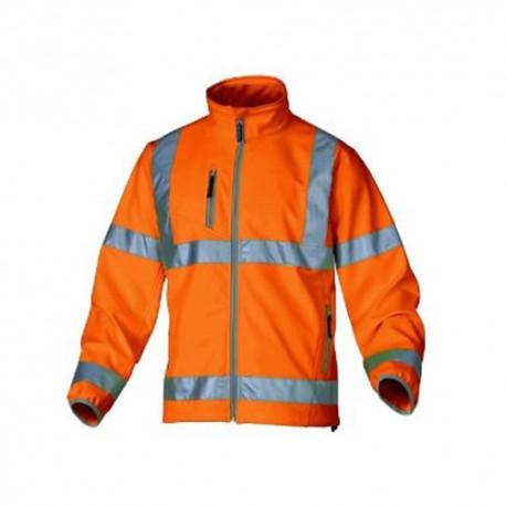 Veste de haute visibilité fluo orange moonlight Panople