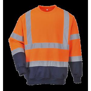 Sweat-shirt chokecar haute visibilité