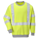 Sweatshirt anti-statique et anti-flame à haute visibilité