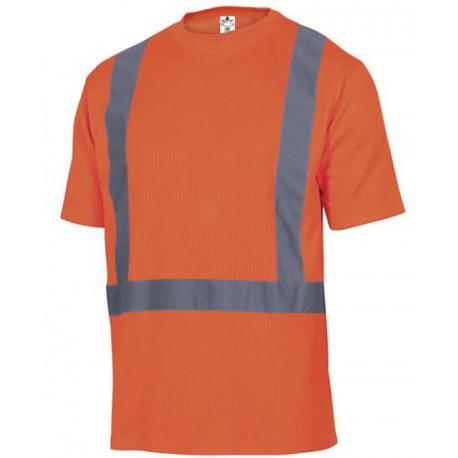 T-shirt choker haute visibilité en classe 2