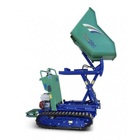 Compteur de distance laser 10 mt compactMini Transporter Range 800 kg décharge 1,5 m Essence ou Diesel