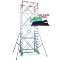 Échafaudage Metal 5 hauteur de travail 8,30 mètres